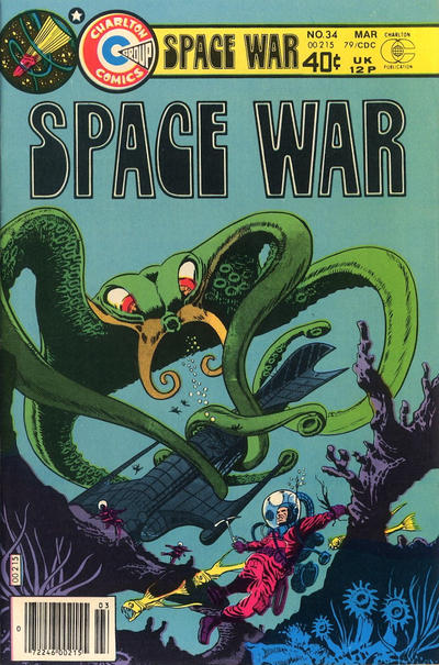 Cover for Space War (Charlton, 1978 series) #34
