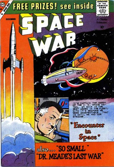 Cover for Space War (Charlton, 1959 series) #2