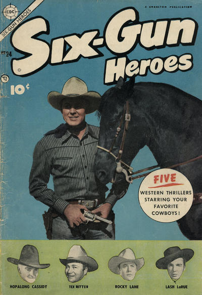 Cover for Six-Gun Heroes (Charlton, 1954 series) #24