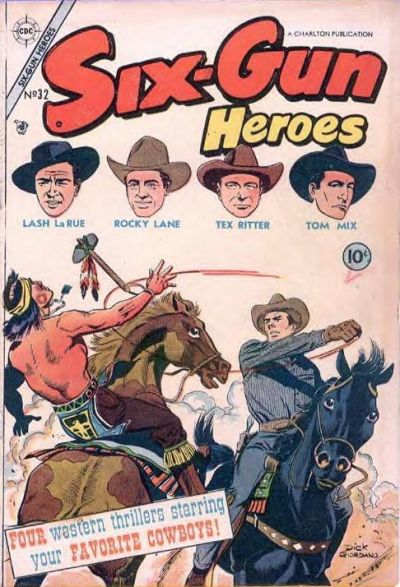 Cover for Six-Gun Heroes (Charlton, 1954 series) #32