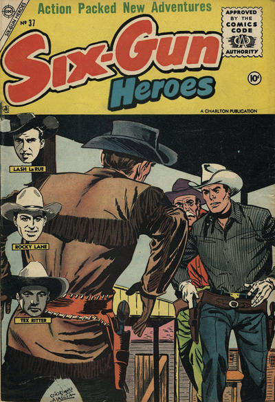 Cover for Six-Gun Heroes (Charlton, 1954 series) #37