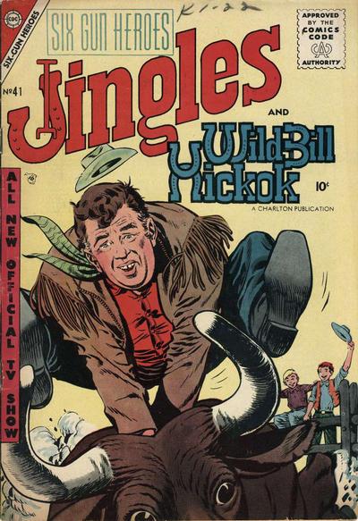 Cover for Six-Gun Heroes (Charlton, 1954 series) #41