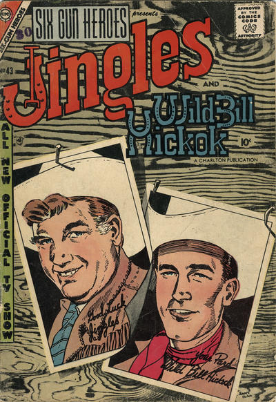 Cover for Six-Gun Heroes (Charlton, 1954 series) #43