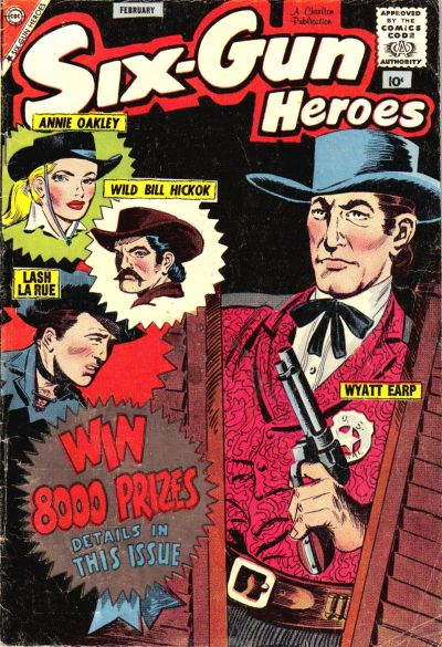 Cover for Six-Gun Heroes (Charlton, 1954 series) #50