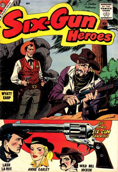 Cover for Six-Gun Heroes (Charlton, 1954 series) #51