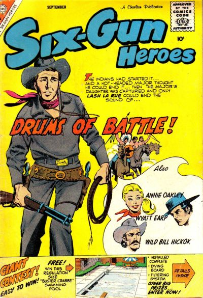 Cover for Six-Gun Heroes (Charlton, 1954 series) #53