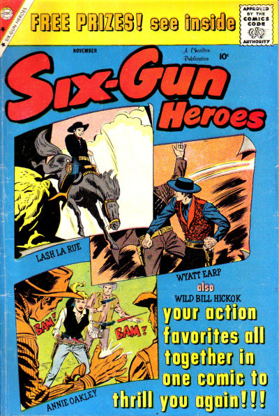 Cover for Six-Gun Heroes (Charlton, 1954 series) #54