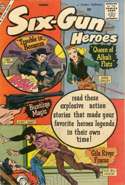 Cover for Six-Gun Heroes (Charlton, 1954 series) #55
