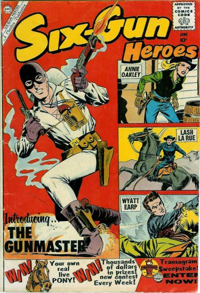 Cover for Six-Gun Heroes (Charlton, 1954 series) #57