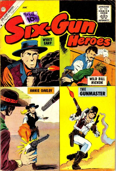Cover for Six-Gun Heroes (Charlton, 1954 series) #63