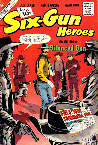 Cover for Six-Gun Heroes (Charlton, 1954 series) #64