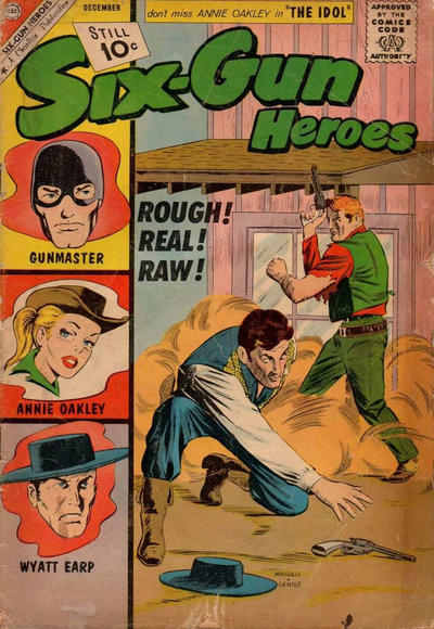 Cover for Six-Gun Heroes (Charlton, 1954 series) #66