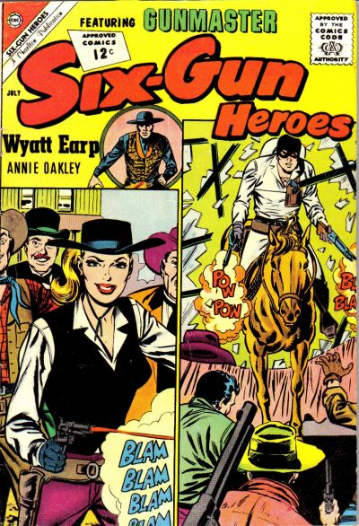 Cover for Six-Gun Heroes (Charlton, 1954 series) #69