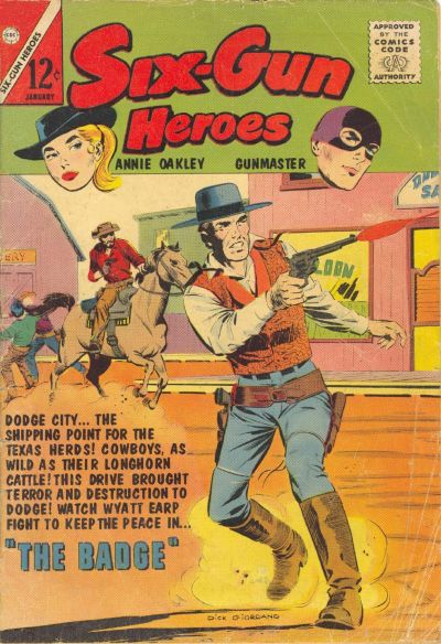 Cover for Six-Gun Heroes (Charlton, 1954 series) #72