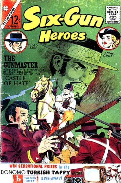 Cover for Six-Gun Heroes (Charlton, 1954 series) #76