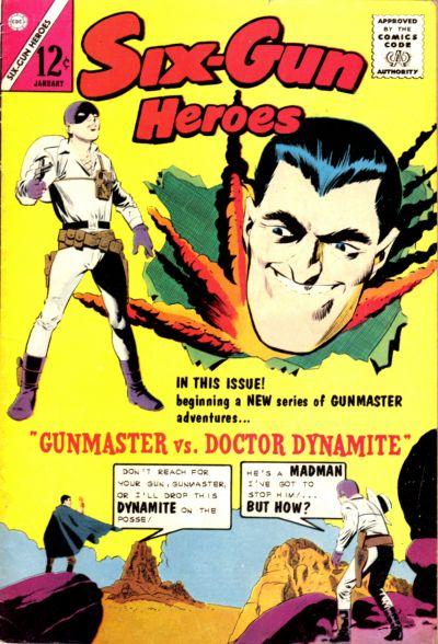 Cover for Six-Gun Heroes (Charlton, 1954 series) #78