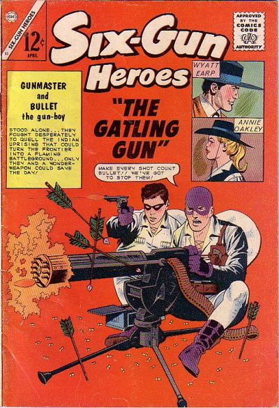 Cover for Six-Gun Heroes (Charlton, 1954 series) #83