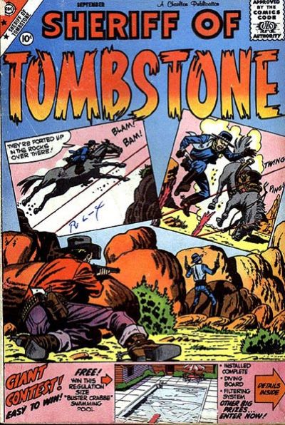 Cover for Sheriff of Tombstone (Charlton, 1958 series) #5