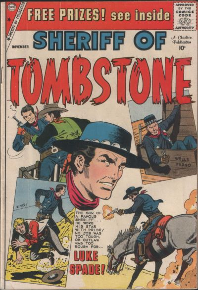 Cover for Sheriff of Tombstone (Charlton, 1958 series) #6