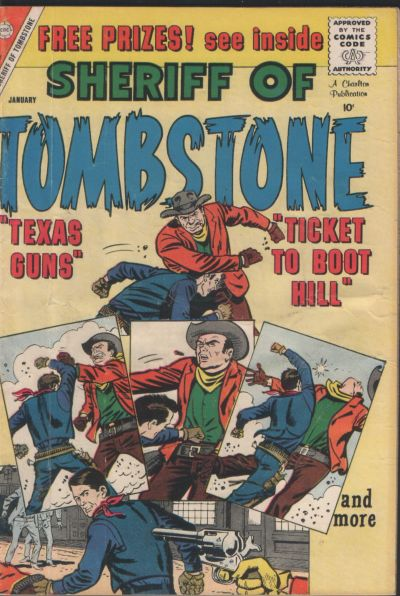 Cover for Sheriff of Tombstone (Charlton, 1958 series) #7