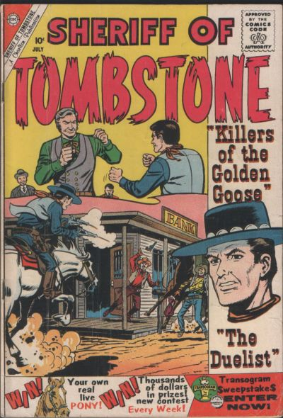 Cover for Sheriff of Tombstone (Charlton, 1958 series) #10
