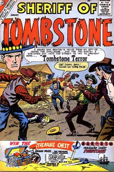 Cover for Sheriff of Tombstone (Charlton, 1958 series) #13