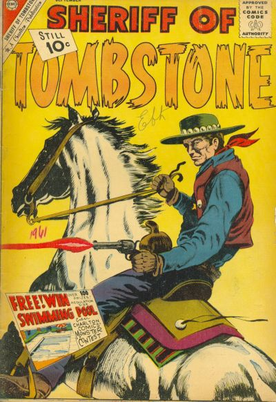 Cover for Sheriff of Tombstone (Charlton, 1958 series) #17