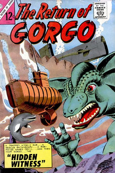 Cover for The Return of Gorgo (Charlton, 1963 series) #3