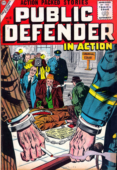 Cover for Public Defender in Action (Charlton, 1956 series) #10