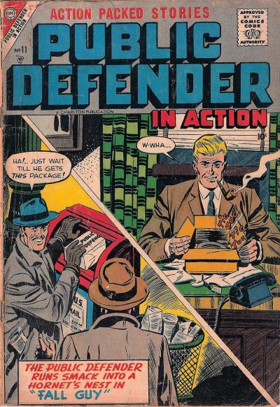 Cover for Public Defender in Action (Charlton, 1956 series) #11