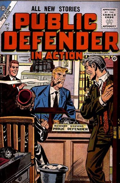 Cover for Public Defender in Action (Charlton, 1956 series) #7