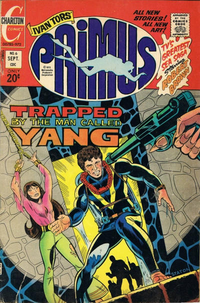 Cover for Primus (Charlton, 1972 series) #6