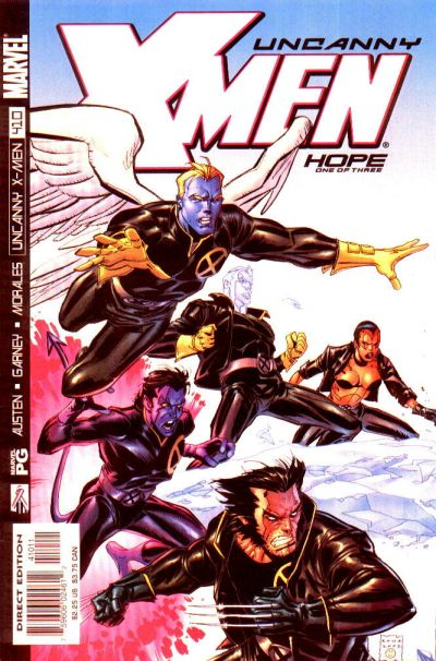 Cover for The Uncanny X-Men (Marvel, 1981 series) #410 [Direct Edition]