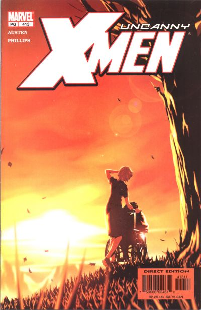 Cover for The Uncanny X-Men (Marvel, 1981 series) #413 [Direct Edition]