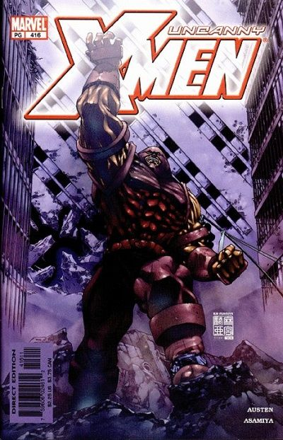 Cover for The Uncanny X-Men (Marvel, 1981 series) #416