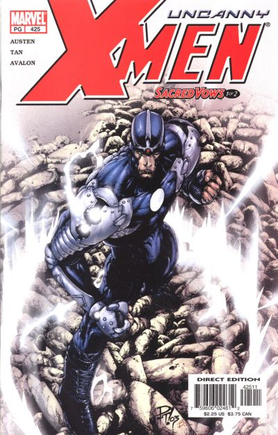 Cover for The Uncanny X-Men (Marvel, 1981 series) #425