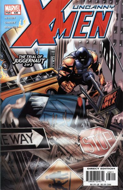 Cover for The Uncanny X-Men (Marvel, 1981 series) #436