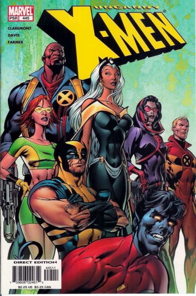 Cover for The Uncanny X-Men (Marvel, 1981 series) #445 [Direct Edition]