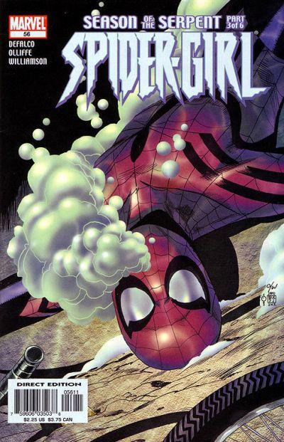 Cover for Spider-Girl (Marvel, 1998 series) #56