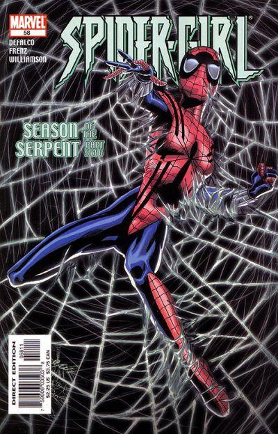 Cover for Spider-Girl (Marvel, 1998 series) #58