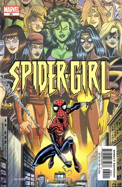 Cover for Spider-Girl (Marvel, 1998 series) #60