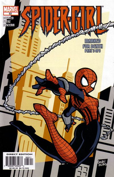 Cover for Spider-Girl (Marvel, 1998 series) #63