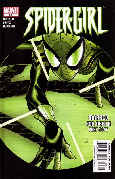 Cover for Spider-Girl (Marvel, 1998 series) #64