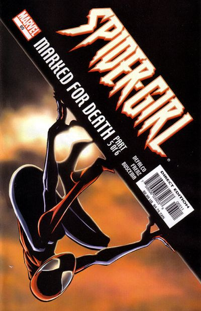 Cover for Spider-Girl (Marvel, 1998 series) #65