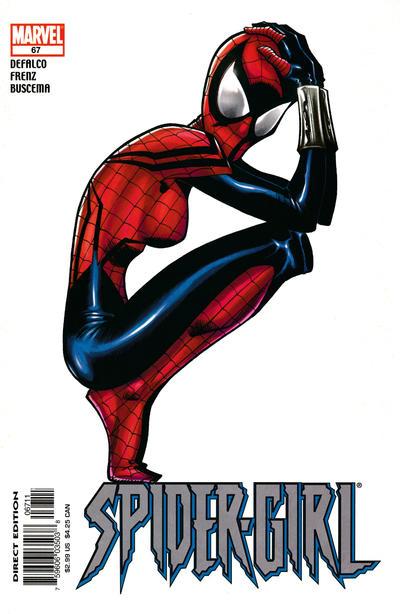 Cover for Spider-Girl (Marvel, 1998 series) #67