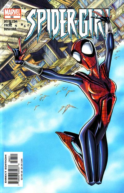 Cover for Spider-Girl (Marvel, 1998 series) #68