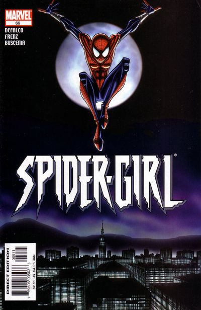 Cover for Spider-Girl (Marvel, 1998 series) #69