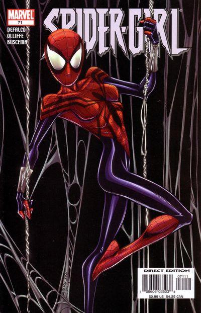 Cover for Spider-Girl (Marvel, 1998 series) #71