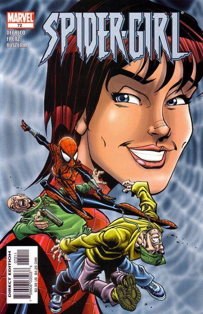 Cover for Spider-Girl (Marvel, 1998 series) #72