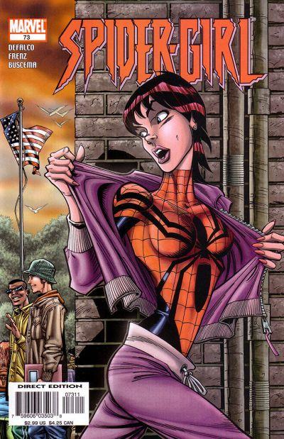 Cover for Spider-Girl (Marvel, 1998 series) #73
